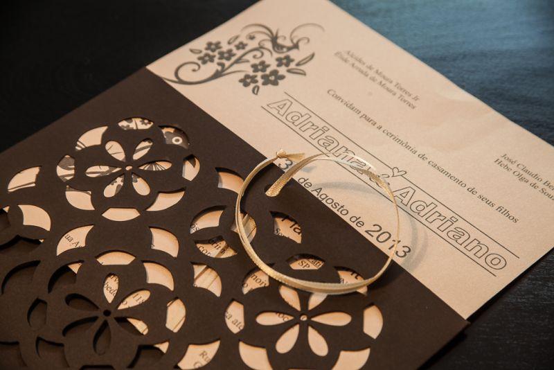 Convites de Casamento - 286