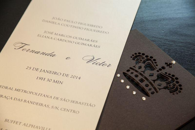 Convites de Casamento - 292