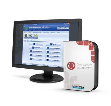 Gerenciador de Call Center - Ision IP- Leucotron