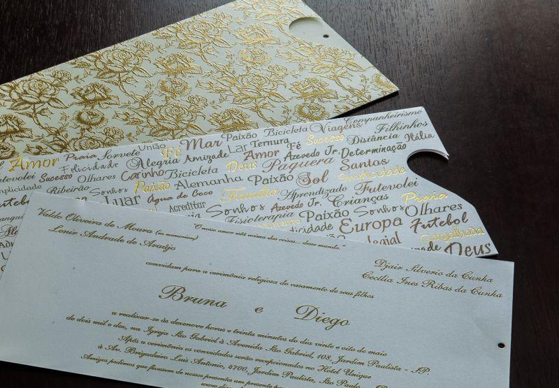 Convites de Casamento - 243