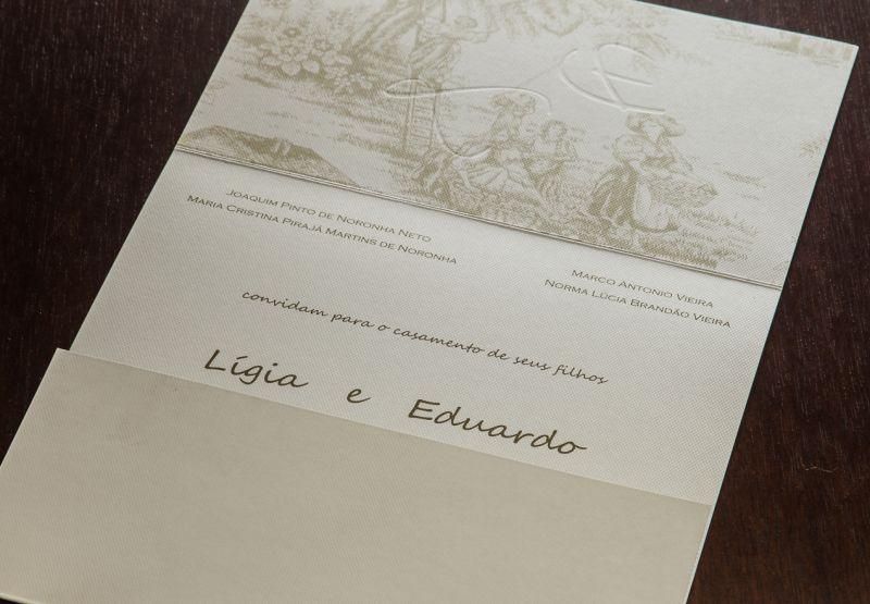 Convites de Casamento - 180 LE