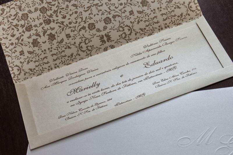 Convites de Casamento - 224