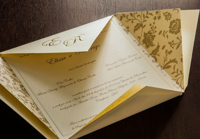Convites de Casamento - 052