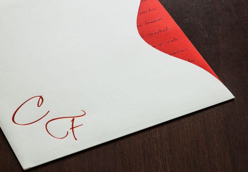 Convites de Casamento - 186V