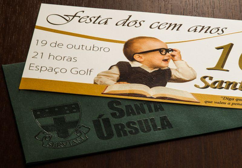 Convites de Formatura - 114 Santa Úrsula