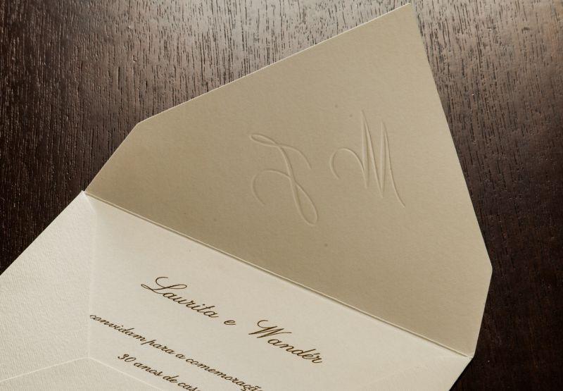 Convites de Bodas de Casamento - 092