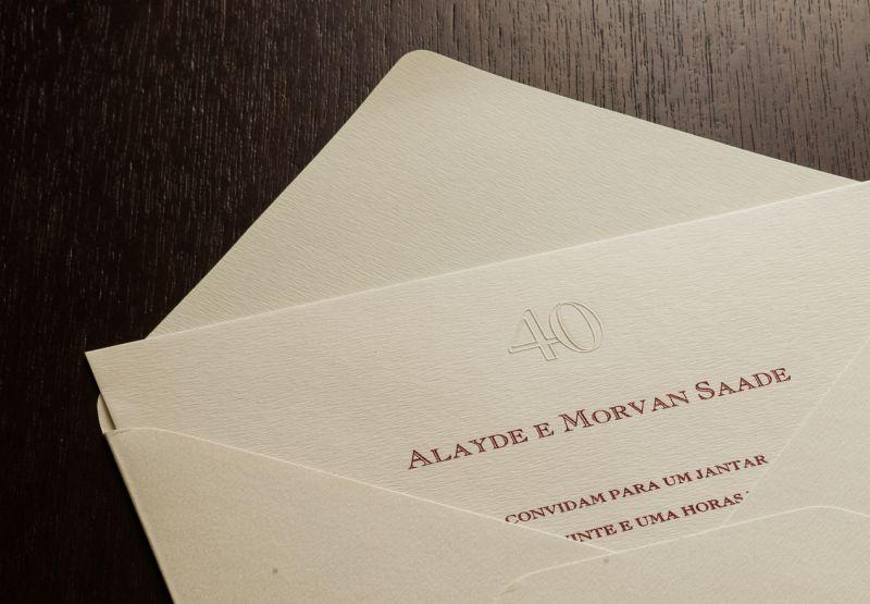 Convites de Bodas de Casamento - 007