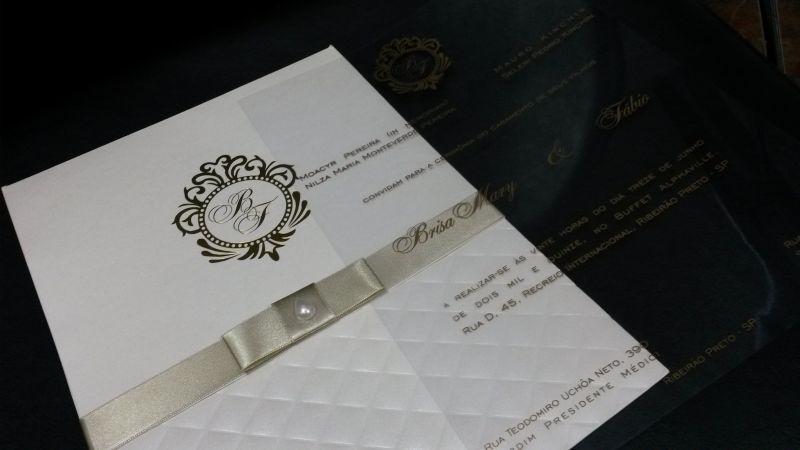 Convites de Casamento - 311