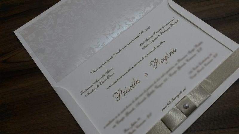 Convites de Casamento - 019