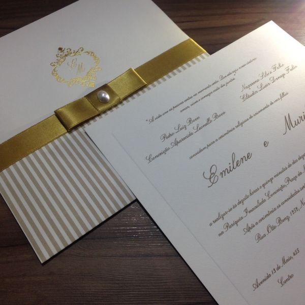 Convites de Casamento - 188