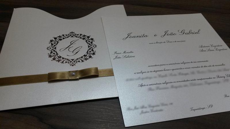 Convites de Casamento - 187