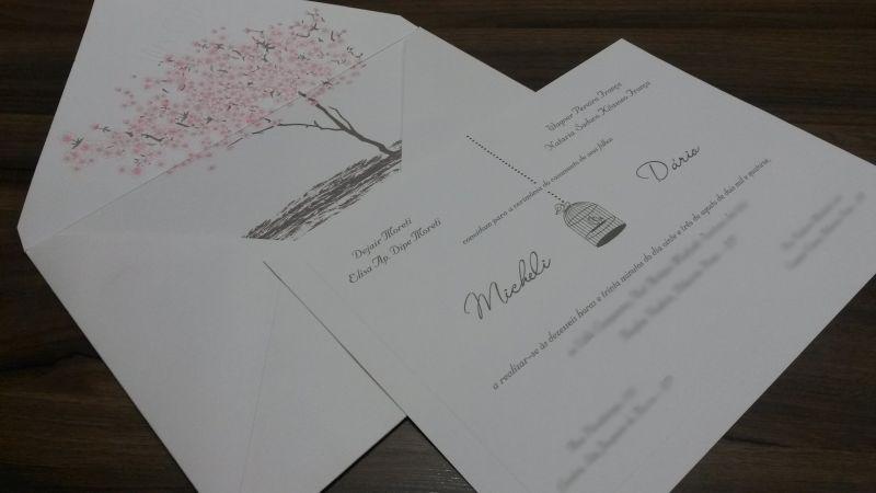 Convites de Casamento - 002