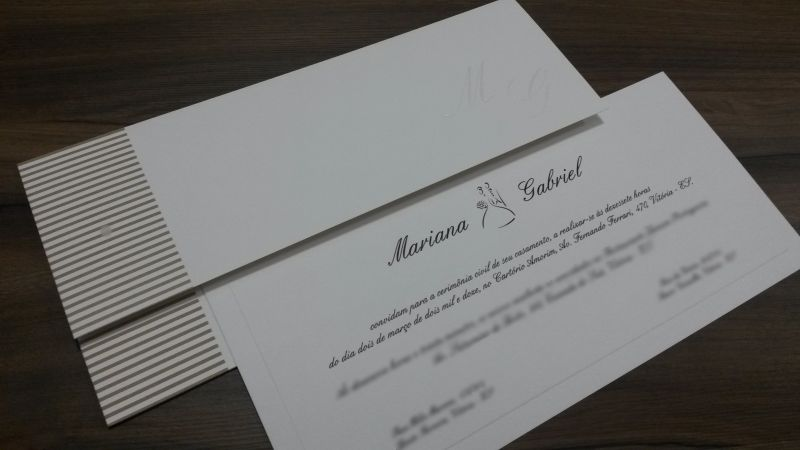 Convites de Casamento - 228