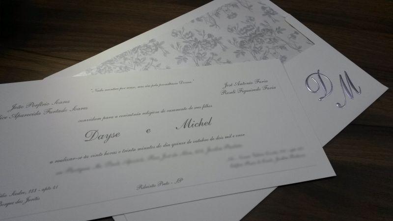 Convites de Casamento - 114