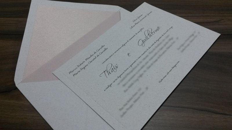 Convites de Casamento - 006 TG