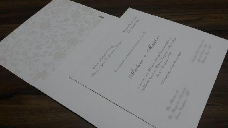 Convites de Casamento - 190