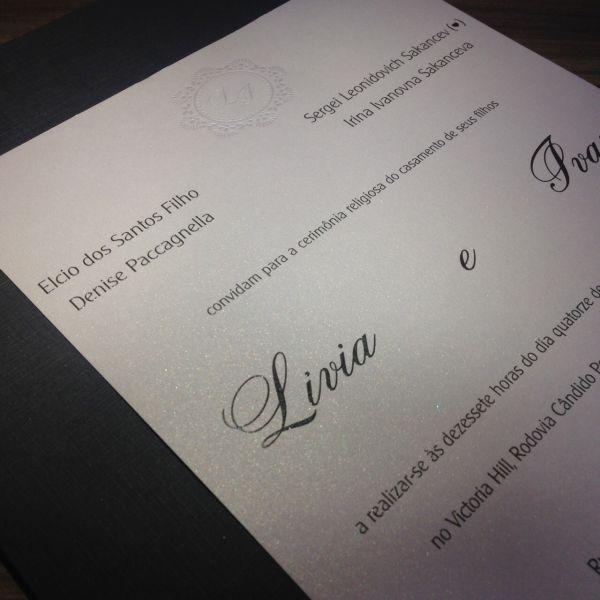 Convites de Casamento - 156