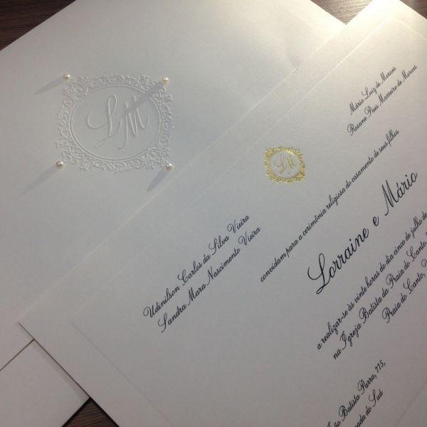 Convites de Casamento - 245