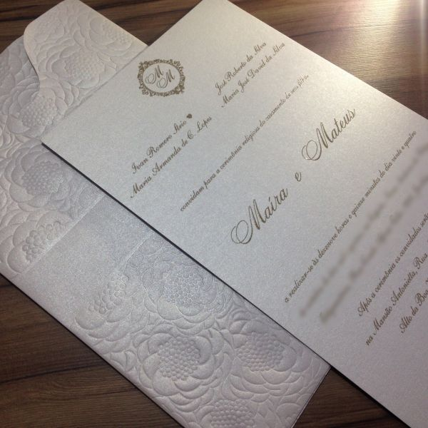 Convites de Casamento - 013 MM