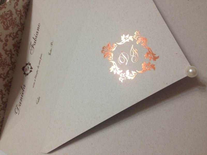 Convites de Casamento - 006 DF