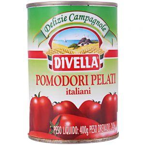 Tomate Pelado Divella 400g