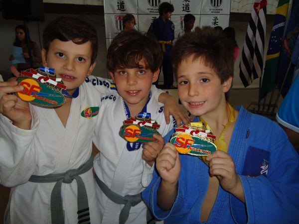Arthur, Guilherme e Gabriel