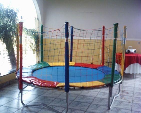 Locação de Brinquedos para festa infantil - cama elastica media 3m