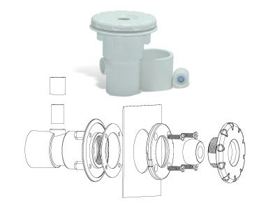 Dispositivos para Piscinas de Vinil. - Dispositivo de Hidro.