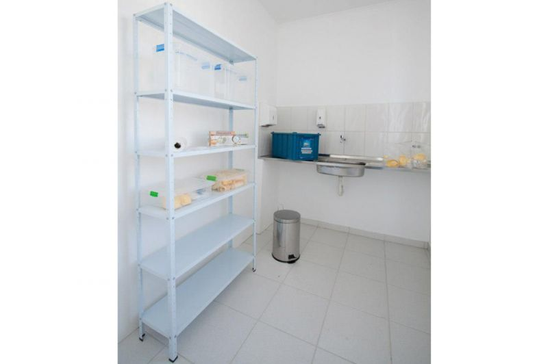 Infra Estrutura - Sala de Utilidade - Higienização