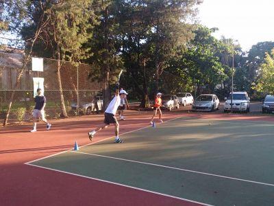 Aula de Tênis e Treinamento de Tênis Adulto Amador