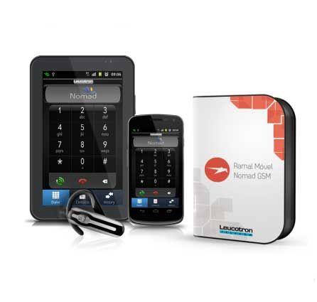 Ramal Móvel (Celular) Nomad GSM - Leucotron