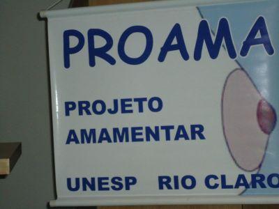 I ConViam Proama Projeto Amamentar- UNESP RIO CLARO