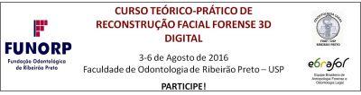 CURSO TEÓRICO-PRÁTICO DE RECONSTRUÇÃO FACIAL FORENSE 3D DIGITAL