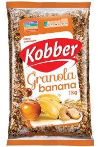 Granola Kobber Banana & Mel 1kg