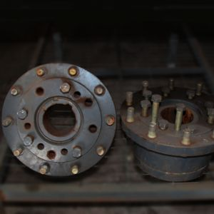 Cubo da roda traseira 7415