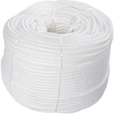 Corda de Segurança Branca Poliamida 12mm