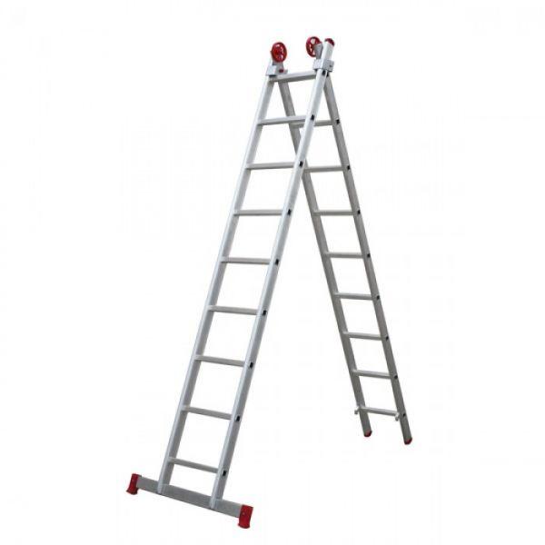 Escada De Alumínio Extensiva 2 x 09 Degraus