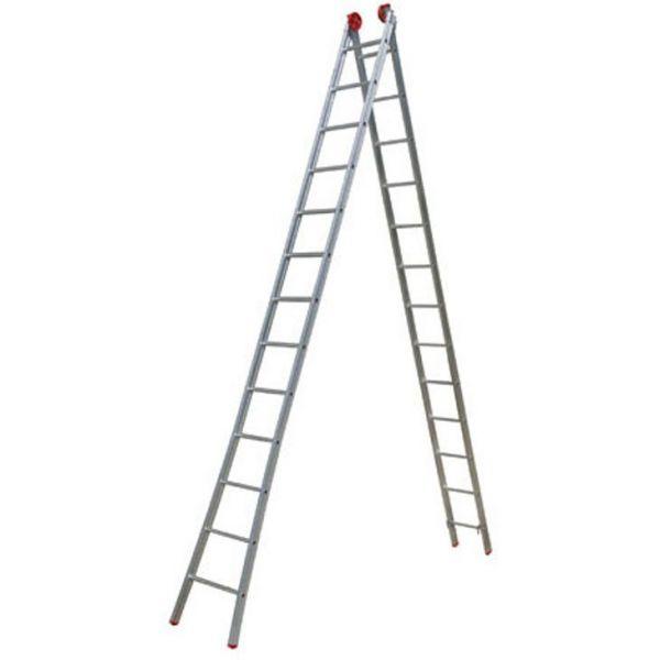 Escada De Alumínio Extensiva 2 x 13 Degraus 7,20