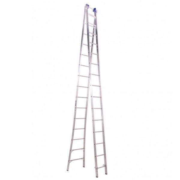 Escada De Alumínio Extensiva 2 x 15 Degraus 8,3