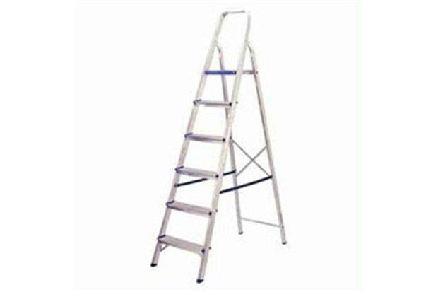 Escada de Alumínio Standard 06 Degraus