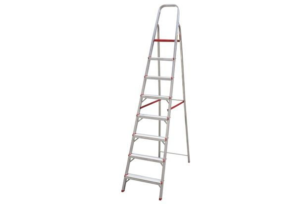 Escada de Alumínio Standard 08 Degraus