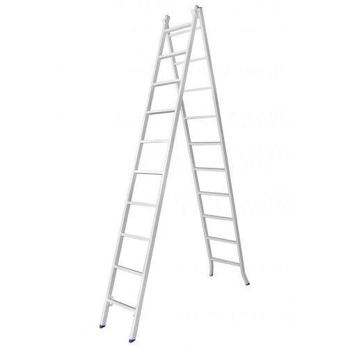Escada De Ferro 40X20 10 Degraus Extensiva
