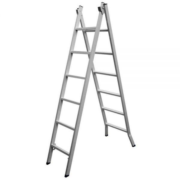 Escada De Ferro 40X20 06 Degraus Extensiva