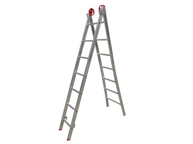 Escada De Alumínio Extensiva 2 x 07 Degraus 3,90