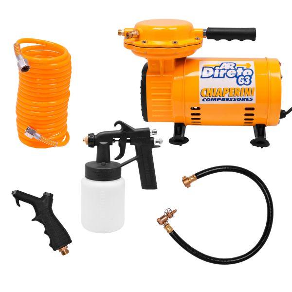 Compressor Ar Direto Bivolt Chiaperini Com Kit 1/3HP