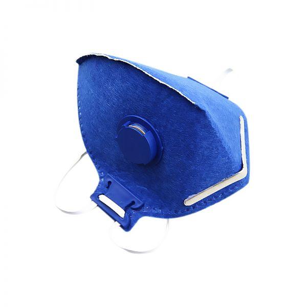 Mascara Descartável PFF2 Com Filtro - Caixa com 100 unidades