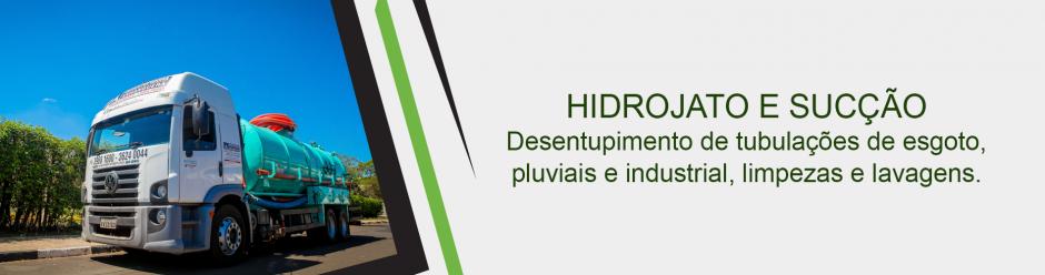 Hidrojato e Sucção