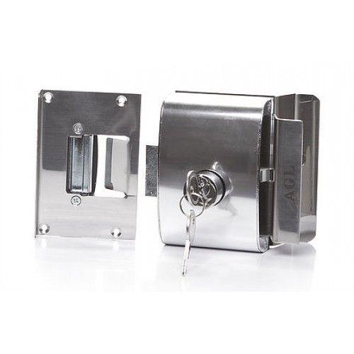 Fechadura Eletrica Para Porta de Vidro AGL PVF1