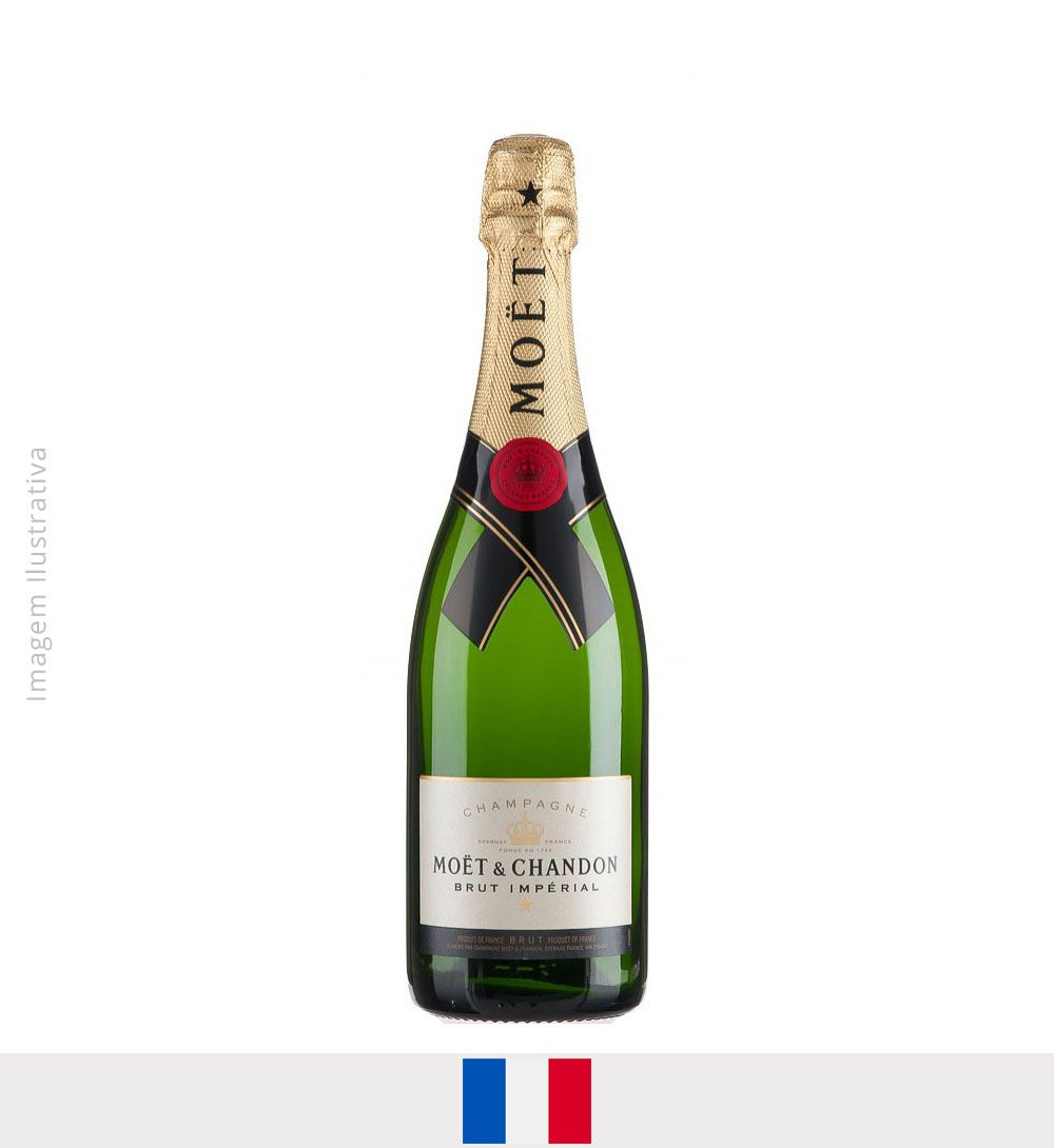Champagne Moet Chandon Brut Imperial 750ml - Champagne Moet Chandon Brut Imperial