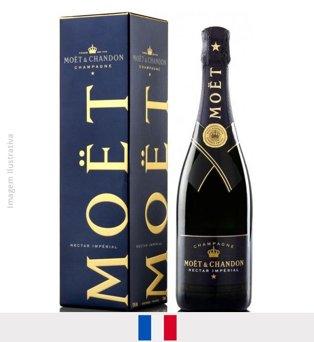 Champagne Moet Chandon Néctar Imperial 750ml
